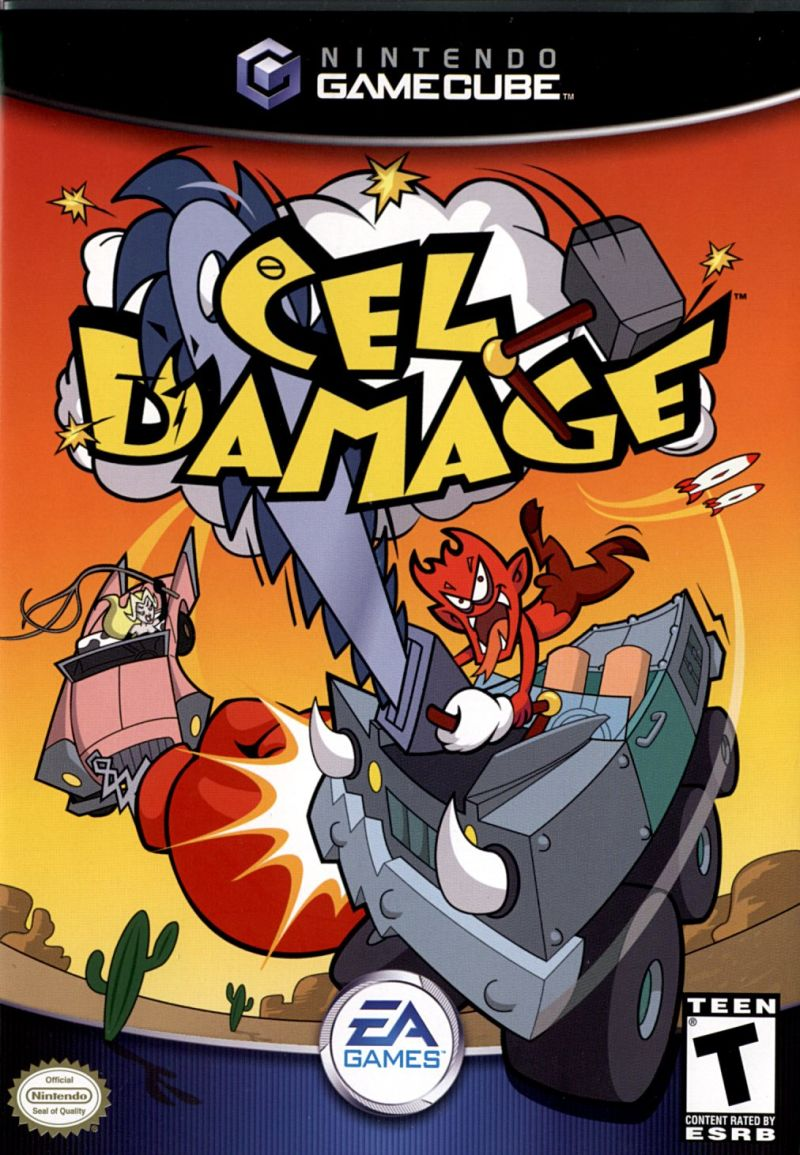 Cel Damage GameCube Front Cover