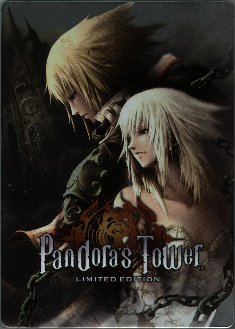 Pandora's Tower (Limited Edition) Wii Extras Steel Book - Front