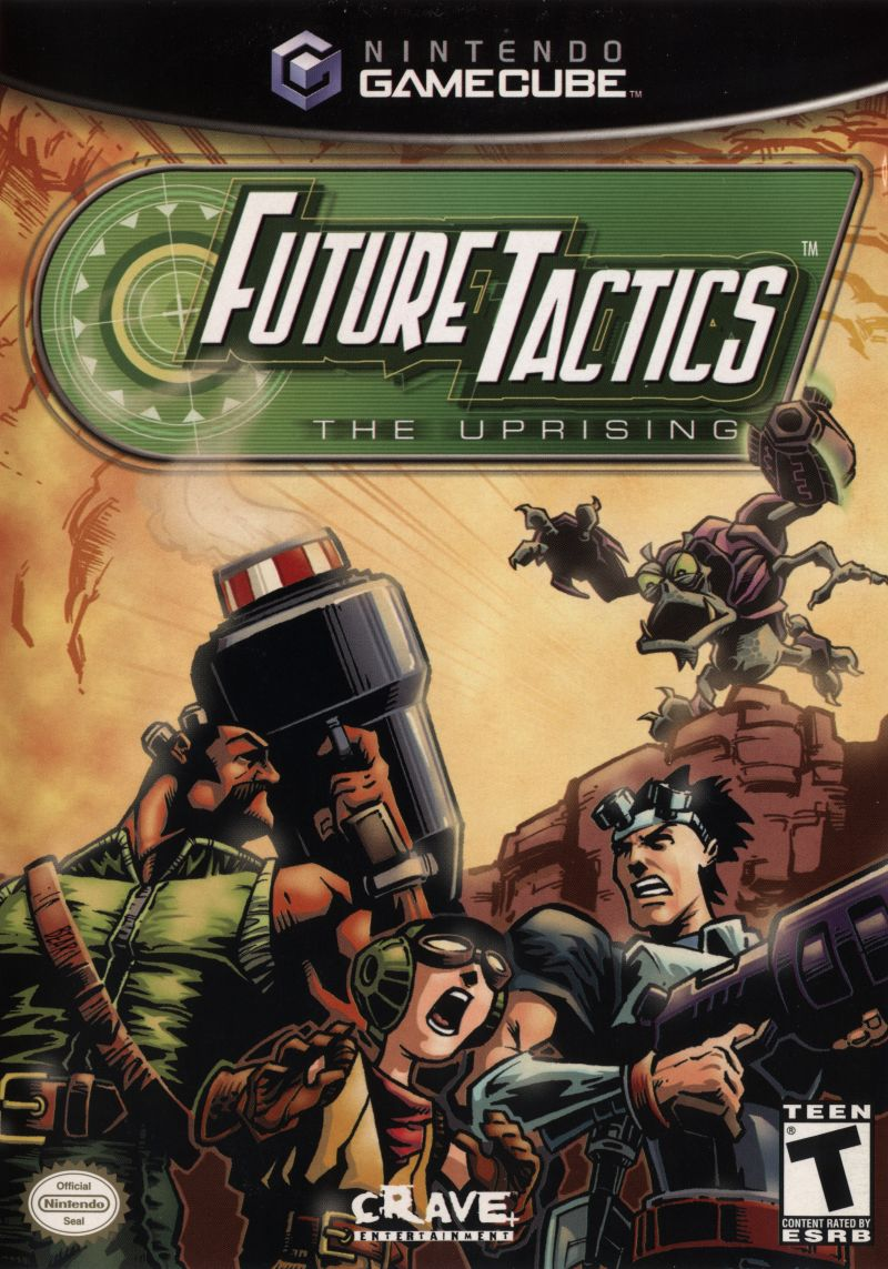 Future Tactics: The Uprising GameCube Front Cover