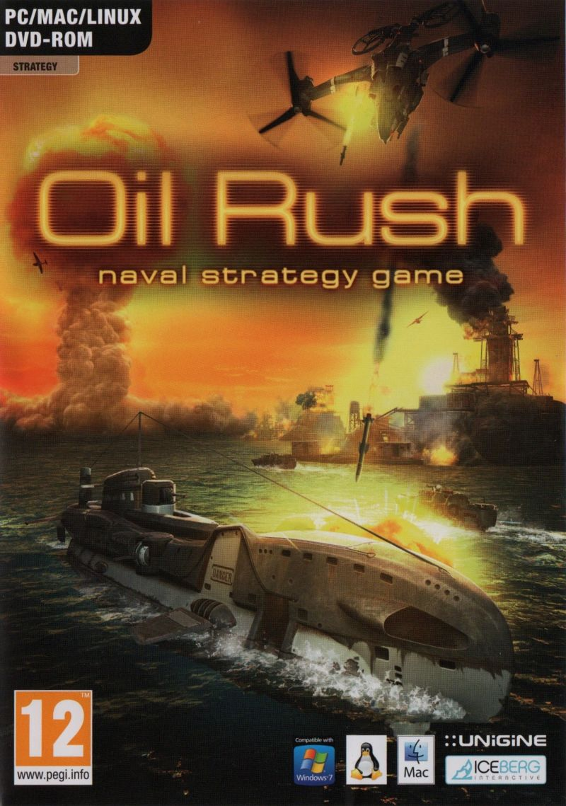 Oil Rush Linux Front Cover