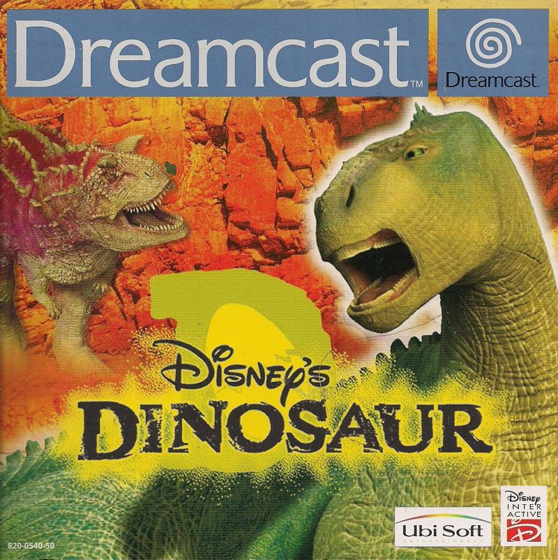 disneys dinosaur dreamcast front cover - Dinosaure Disney