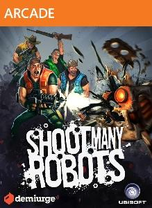 Shoot Many Robots Xbox 360 Front Cover