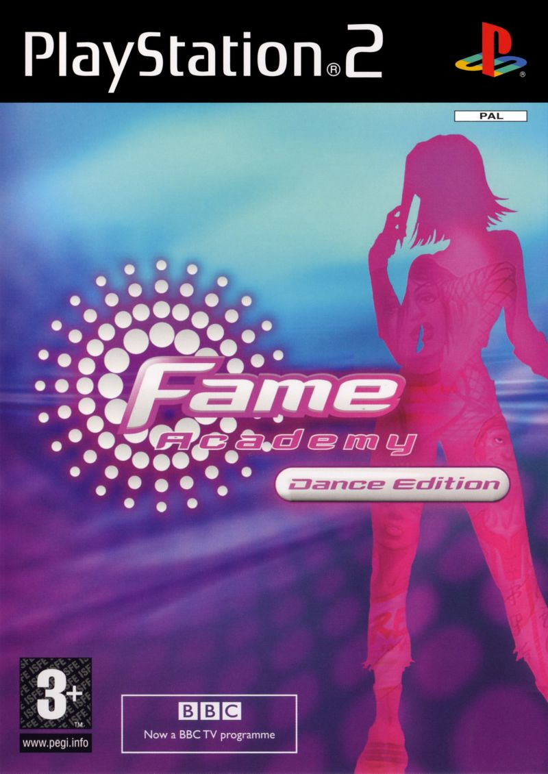 Fame Academy: Dance Edition PlayStation 2 Front Cover