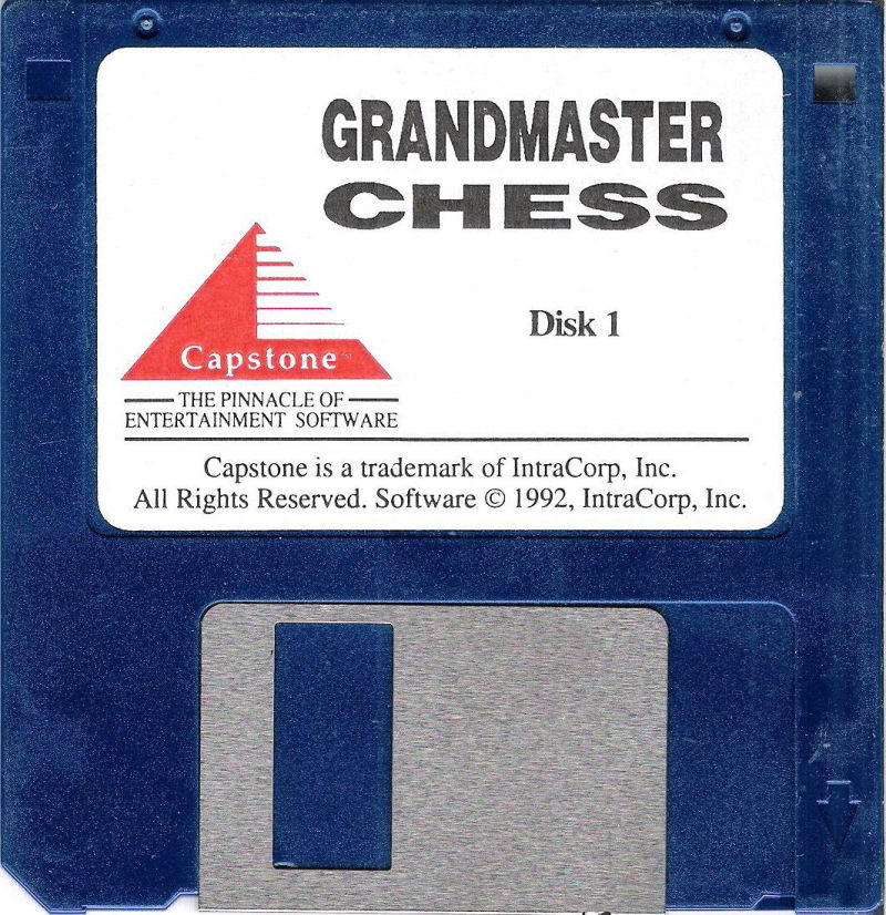 Grandmaster Chess DOS Media Disk (1/2)