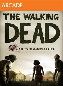 The Walking Dead: Episode 1 - A New Day Xbox 360 Front Cover
