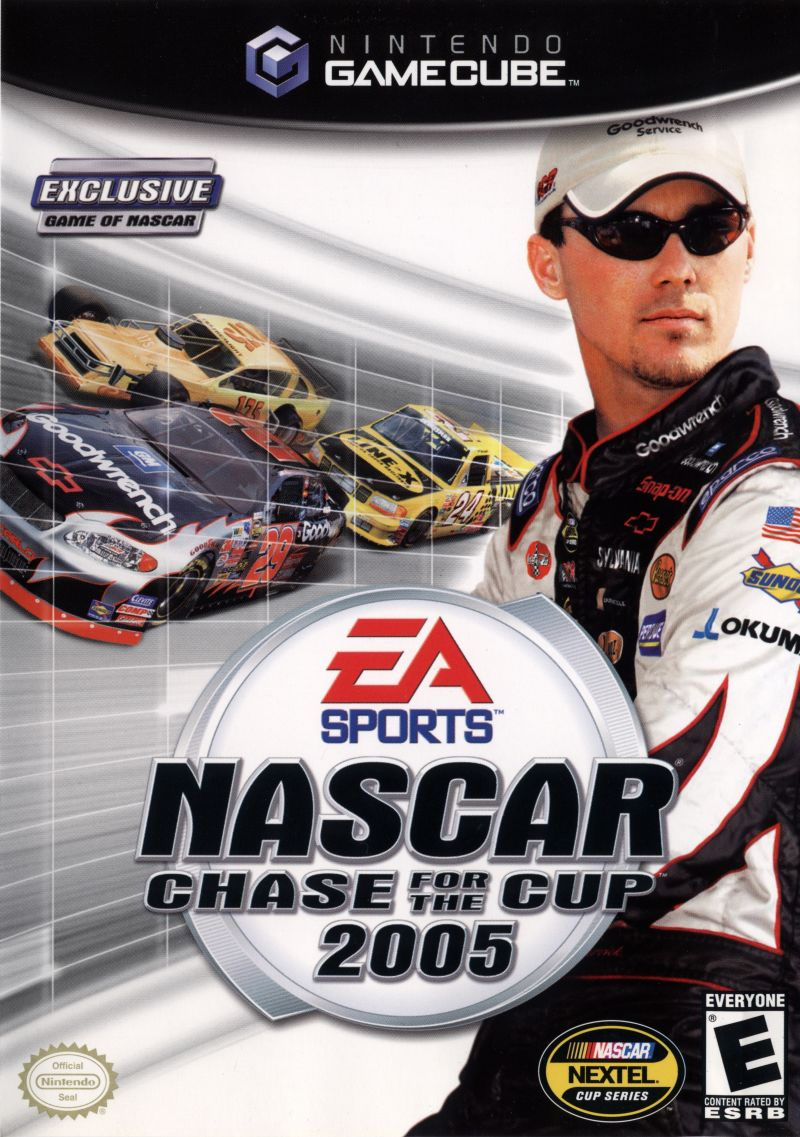 Nascar Racing Games >> NASCAR 2005: Chase for the Cup for GameCube (2004) - MobyGames