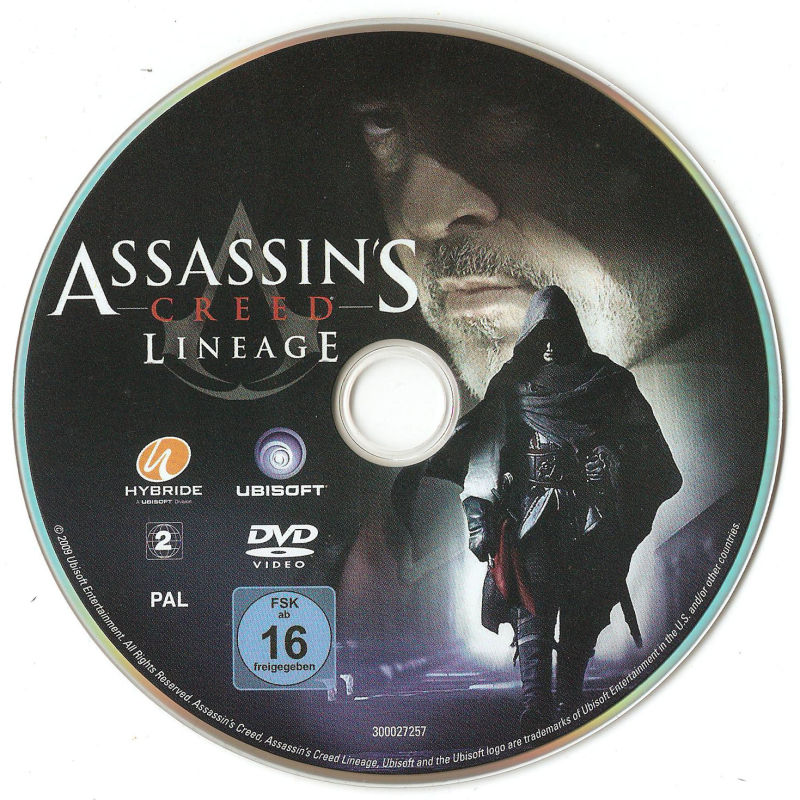 Assassin's Creed: Brotherhood (Codex Edition) PlayStation 3 Media Lineage dvd