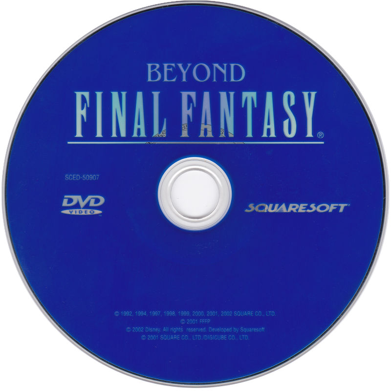 Final Fantasy X PlayStation 2 Extras Beyond Final Fantasy