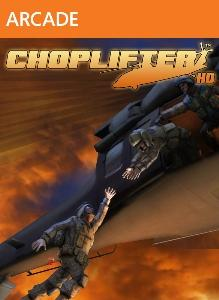 Choplifter HD Xbox 360 Front Cover