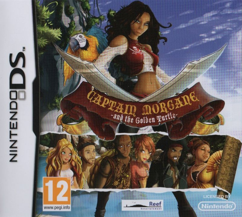 Captain Morgane and the Golden Turtle Nintendo DS Front Cover