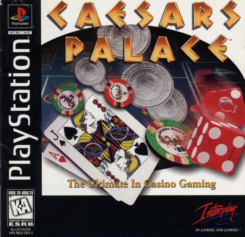 Caesars Palace PlayStation Front Cover