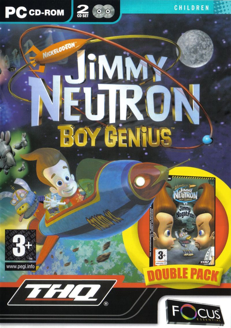 Jimmy Neutron: Boy Genius Double Pack Windows Front Cover