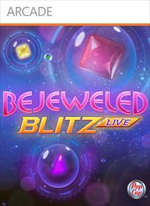 Bejeweled: Blitz Live Xbox 360 Front Cover