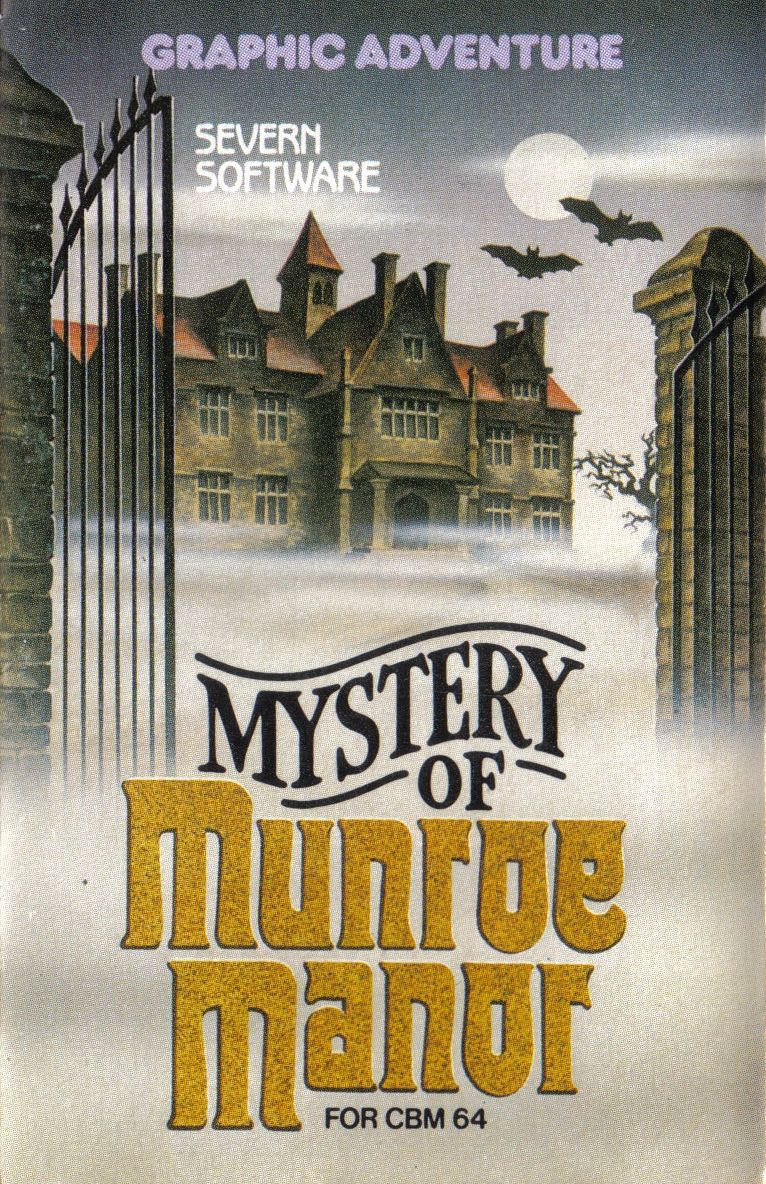 Mystery of Munroe Manor Commodore 64 Front Cover
