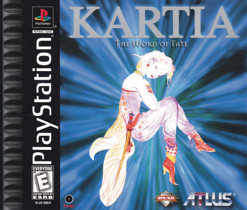 Kartia: The Word Of Fate For PlayStation (1998)