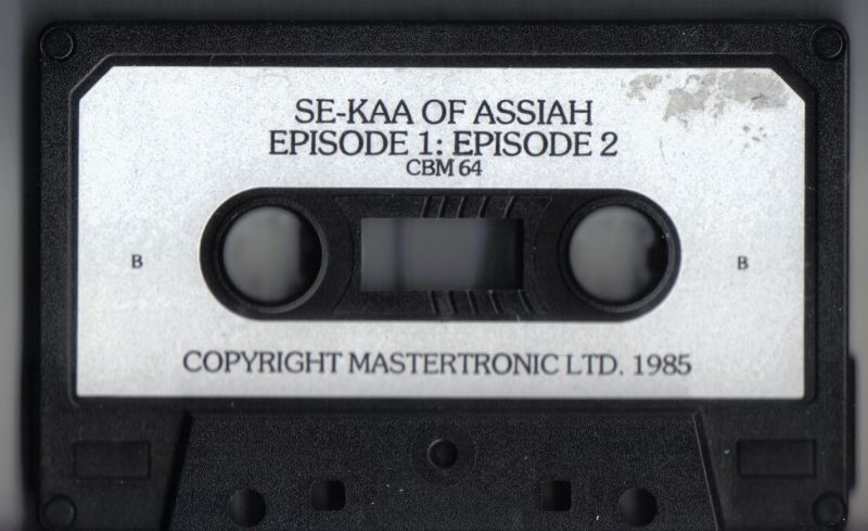 Se-Kaa of Assiah Commodore 64 Media