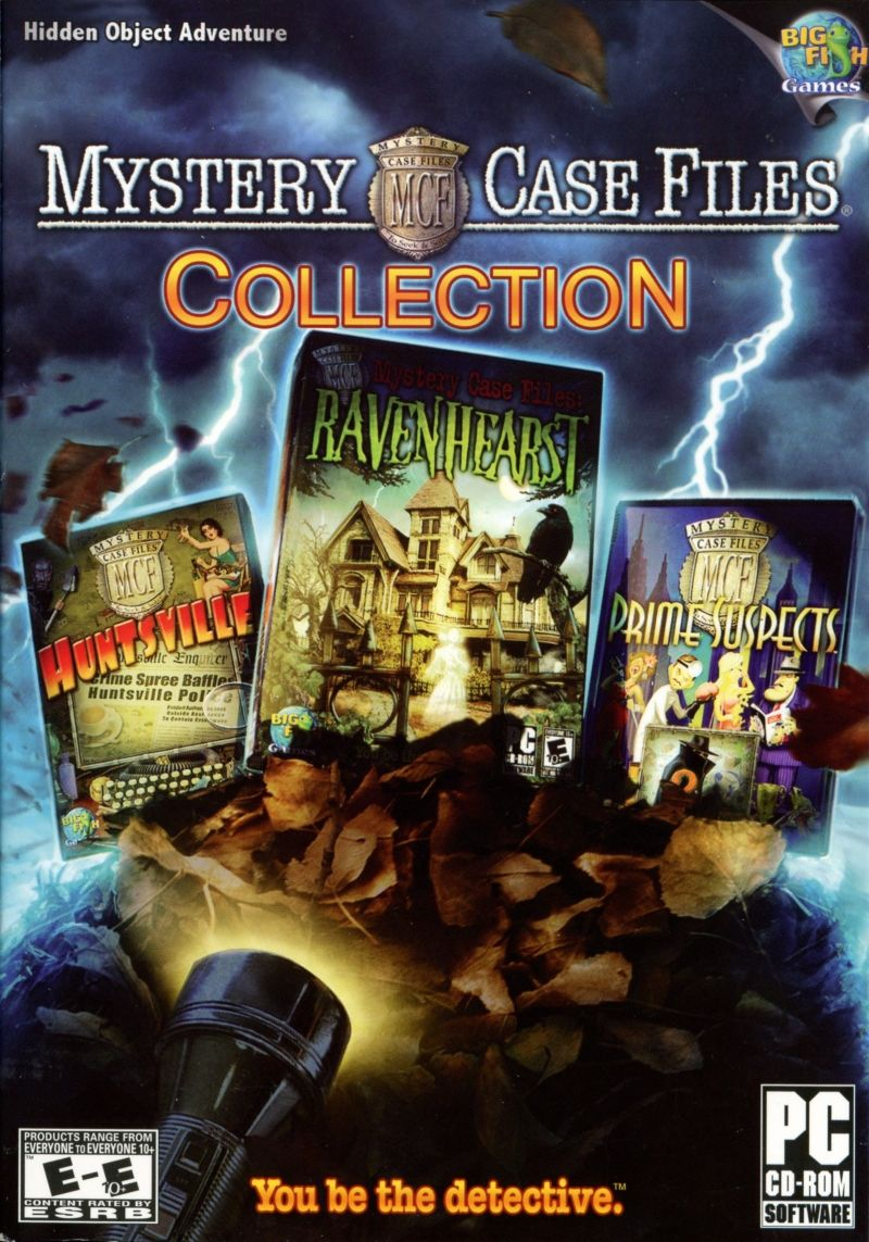 Mystery Case Files Collection Windows Front Cover