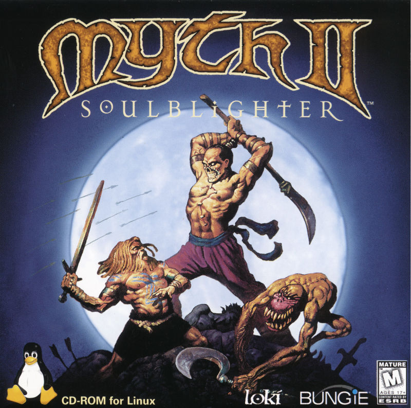 Myth II: Soulblighter Linux Other Jewel Case - Front