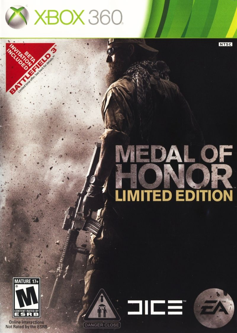 Medal of Honor (Limited Edition) Xbox 360 Front Cover