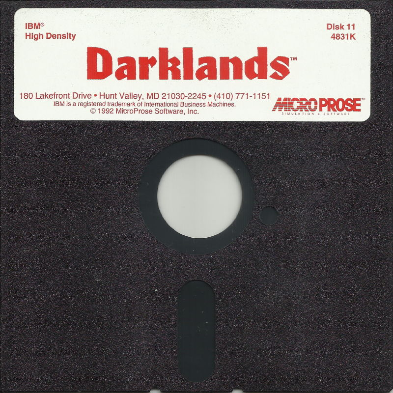 Darklands DOS Media Disk 11/11