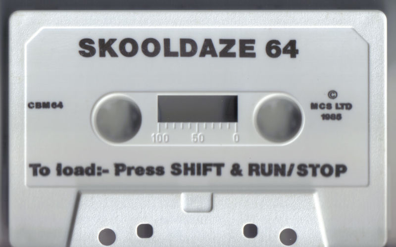 Skool Daze Commodore 64 Media