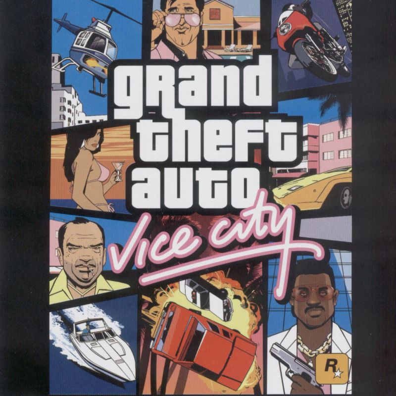 Grand Theft Auto: Vice City Windows Other Jewel Case - Front
