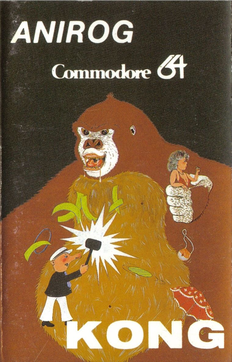 Kong Commodore 64 Front Cover