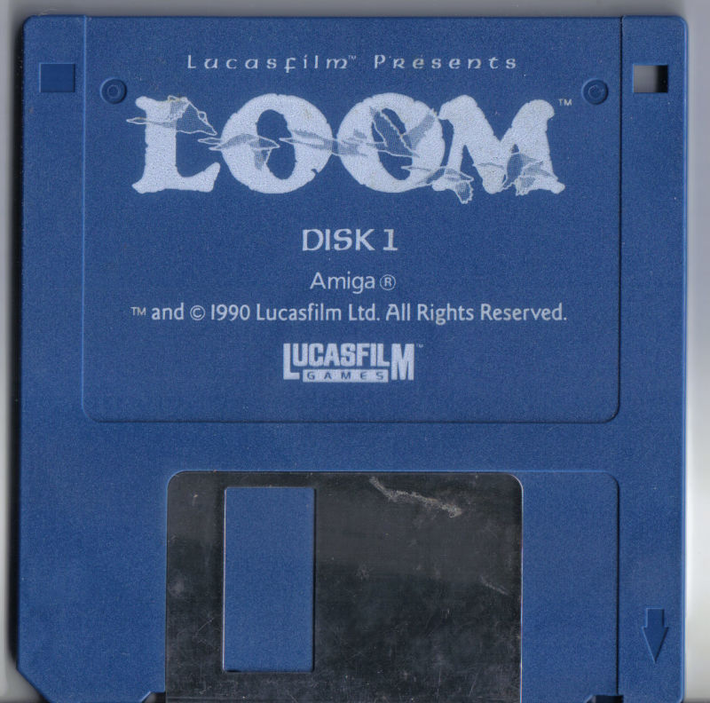 Loom Amiga Media Disc 1/3