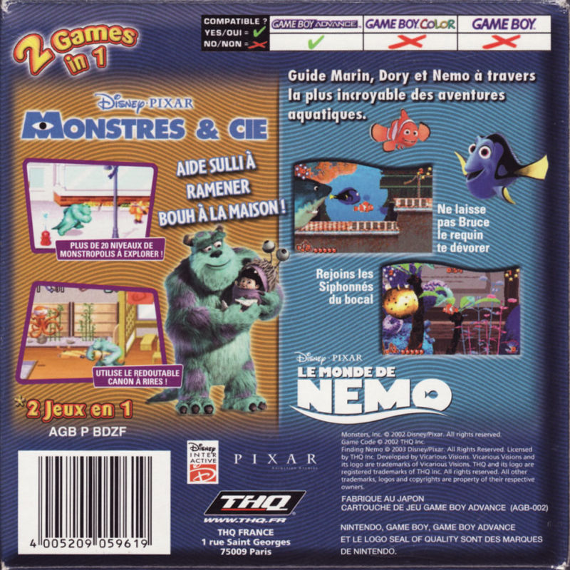 Gamecube Game Monsters In Cars