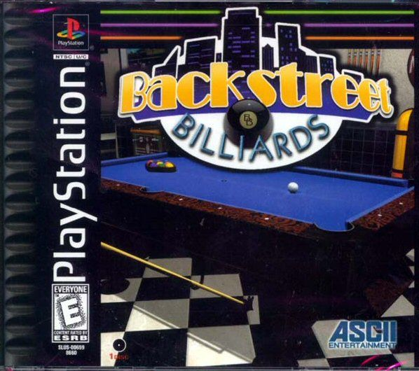 Backstreet Billiards PlayStation Front Cover