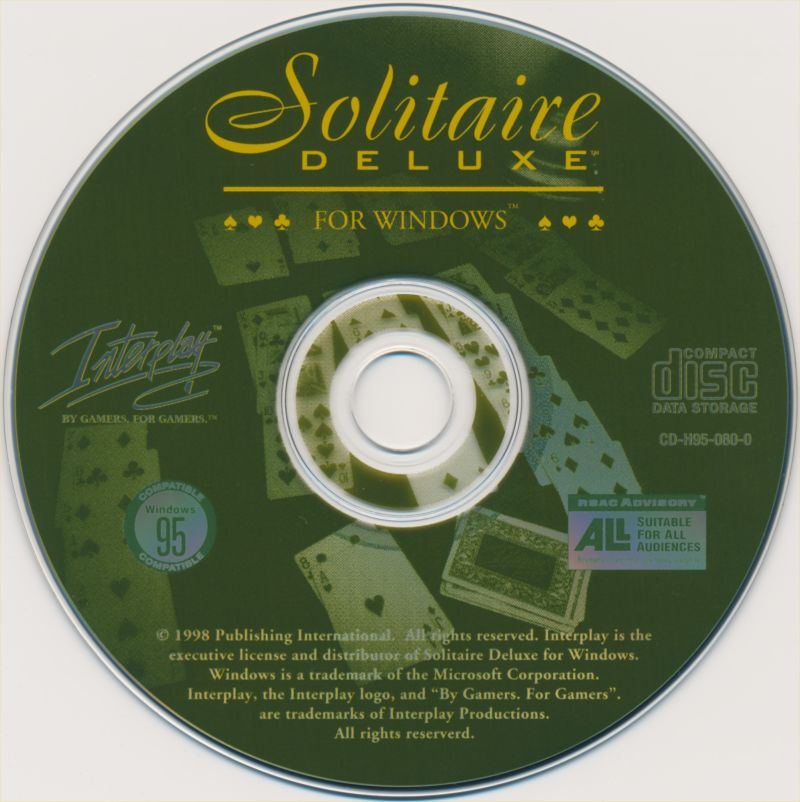 Solitaire Deluxe Windows 3.x Media