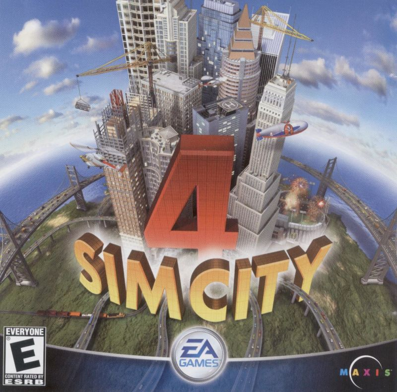 SimCity 4 Windows Other Jewel Case - Front