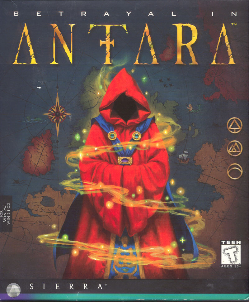 Betrayal in Antara Windows Front Cover