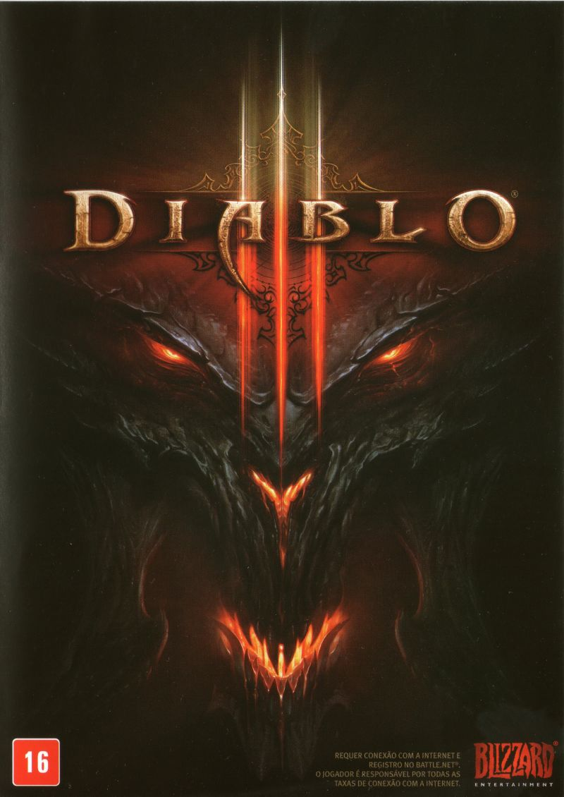 Diablo III Windows Front Cover
