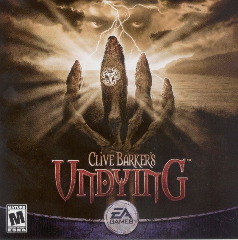 Clive Barker's Undying Windows Other Jewel Case - Front