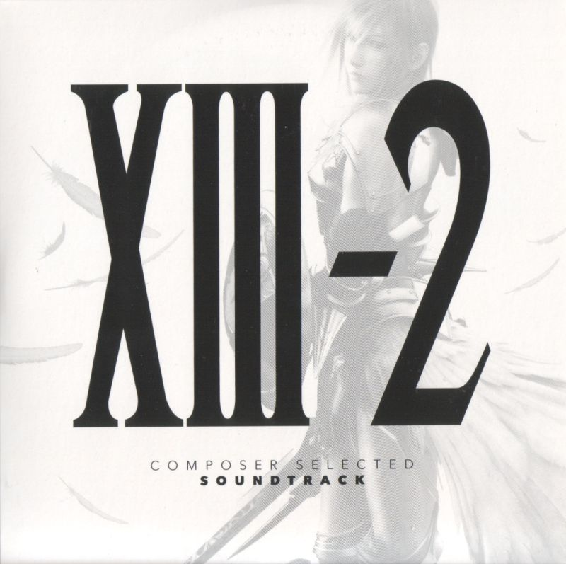 Final Fantasy XIII-2 (Limited Collector's Edition) PlayStation 3 Soundtrack Sleeve - Front