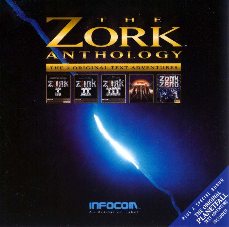 The Zork Anthology DOS Other Jewel Case - Front