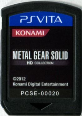 Metal Gear Solid: HD Edition PS Vita Media