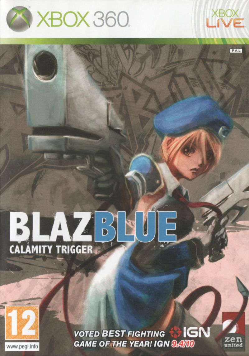 BlazBlue: Calamity Trigger for Arcade (2008) - MobyGames Xbox 360 Game Covers Download