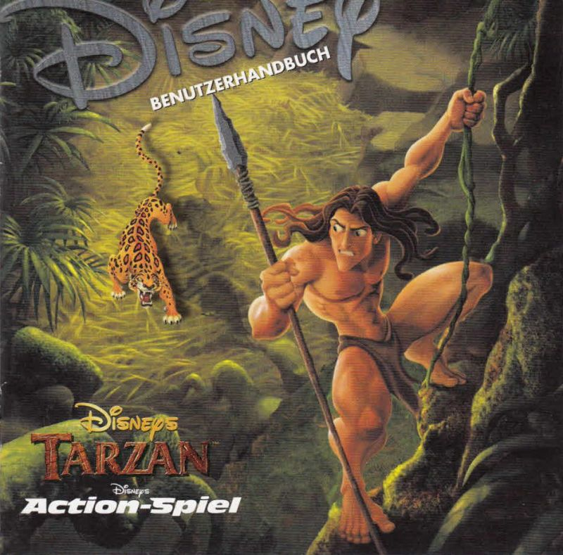Disney's Tarzan Windows Other Jewel Case - Front