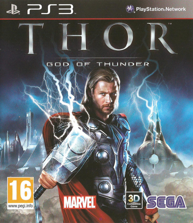 Thor: God of Thunder PlayStation 3 Front Cover