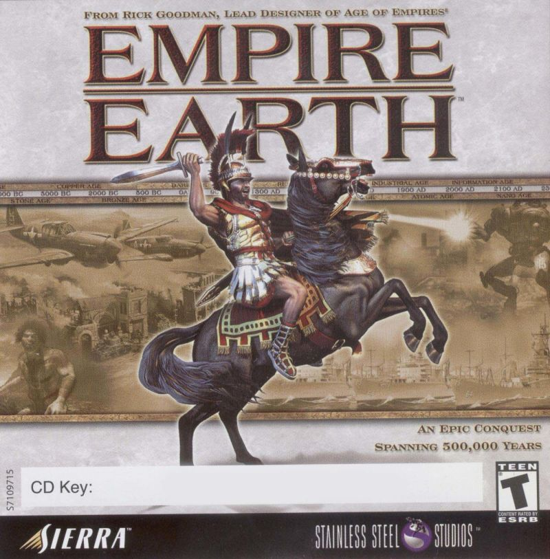 Empire Earth Windows Other Jewel Case - Front