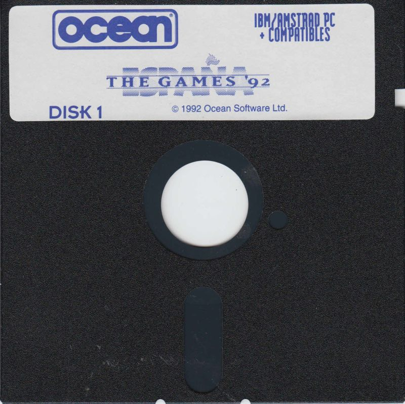 The Games '92 - España DOS Media Floppy 1/2
