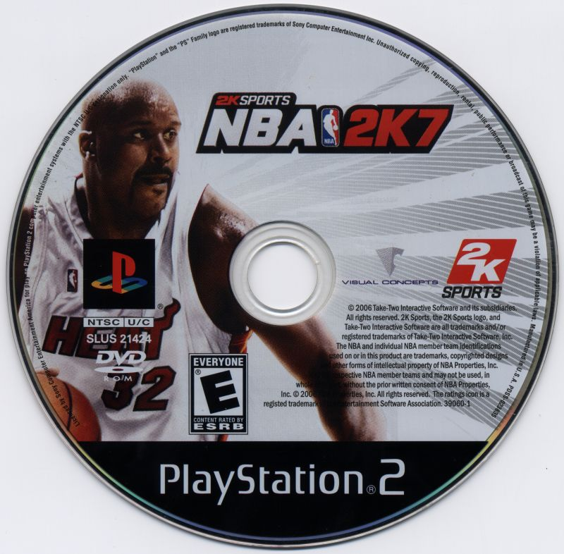 NBA 2K7 PlayStation 2 Media