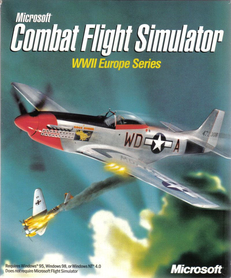 Microsoft Combat Flight Simulator: WWII Europe Series Windows Front Cover