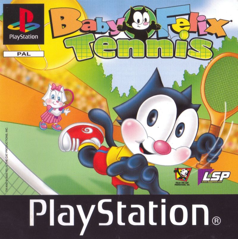 Baby Felix Tennis PlayStation Front Cover