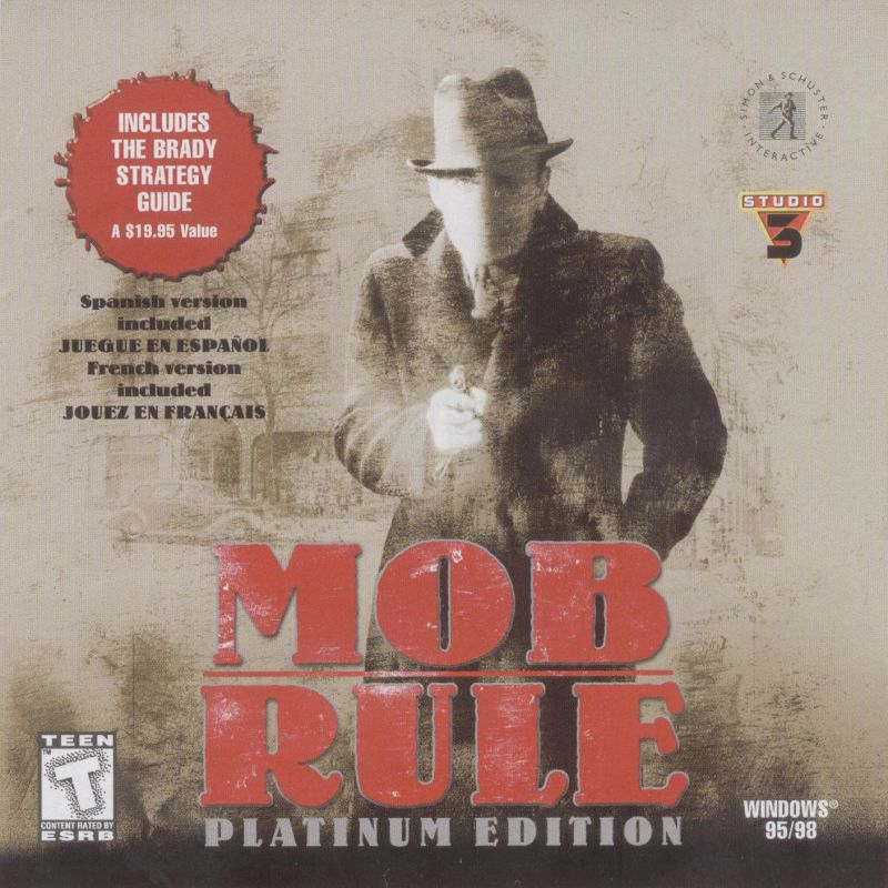 Mob Rule: Platinum Edition Windows Other Jewel Case - Front