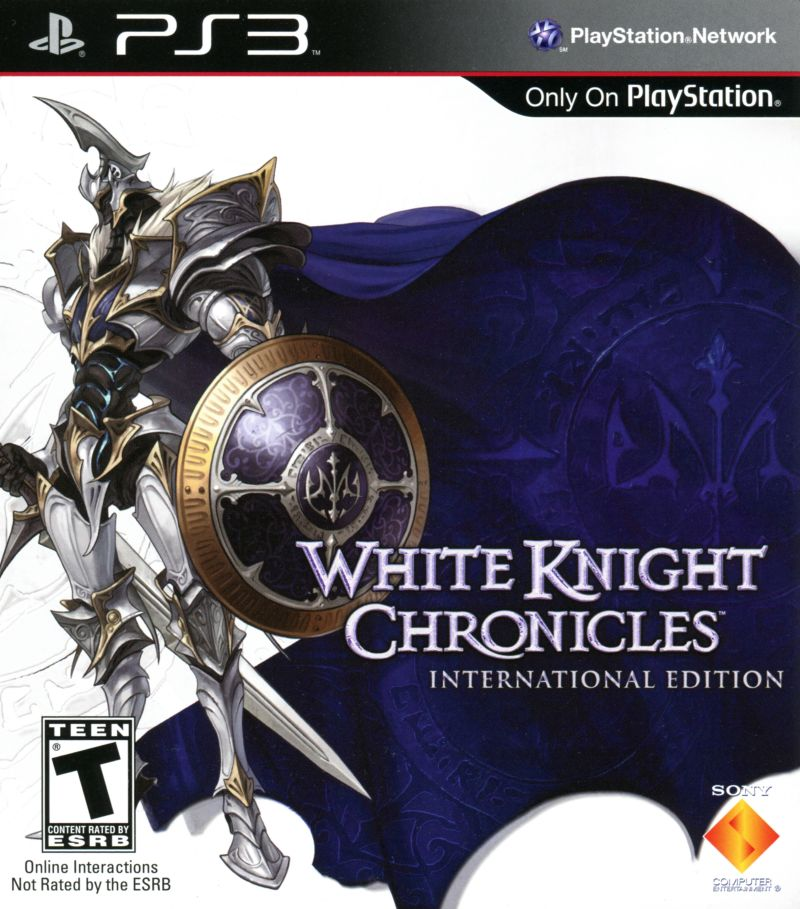 White Knight Chronicles: International Edition PlayStation 3 Front Cover