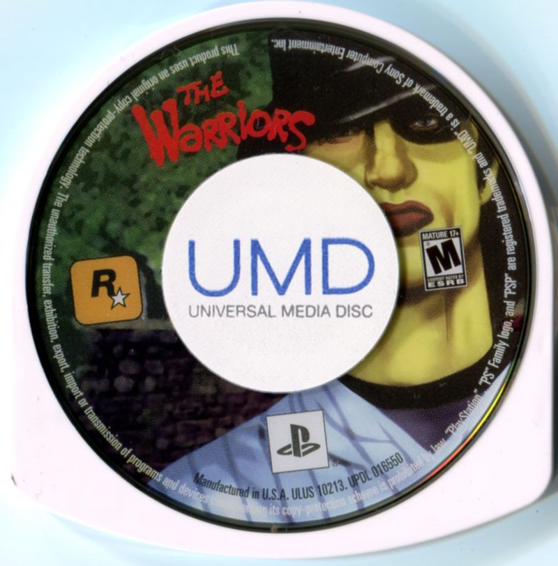 The Warriors PSP Media