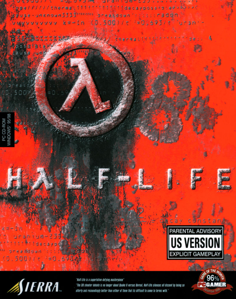 Half-Life Windows Front Cover